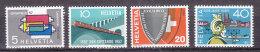 1957  N° 328 à 331  NEUFS**     CATALOGUE  ZUMSTEIN - Switzerland