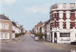 Cpsm Grand Format HAZEBROUCK - La Rue De La Gare - Hazebrouck
