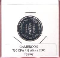CAMEROON 750 CFA 2005 PYGMY UNC NOT IN KM - Cameroun