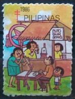 FILIPINAS.1986.VIÑETA. USADO - USED. - Philippines