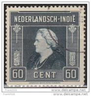 Netherlands Indies 1945, Queen Wilhelmina, 60c,  Used - Indes Néerlandaises