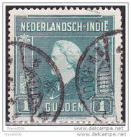 Netherlands Indies 1945, Queen Wilhelmina, 1g,  Used - Indes Néerlandaises