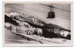 LES HOUCHES--1938--La Cabine Du Téléférique Au-dessus Du Prarion ,cpsm 14 X 9 N°58 éd CAP......à Saisir - Les Houches