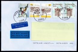 Slovenia 2016: Priority Letter Sent From Maribor 14-04-2016 - Slovenia