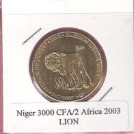 NIGER 3000 CFA 2003 LION UNC NOT IN KM - Niger