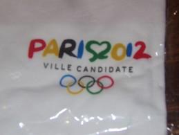 """Publicité. Maillot. J.O. Paris Ville Candidate 2012 """"L'Amour Des Jeux"""" (neuf) - Casquettes & Bobs"""