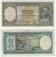 Grecia - Greece 1.000 Dracmas 1-1-1939 Pk 110 A Ref 924-10 - Grecia