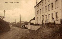 Beaumont - Strée - Entrée Du Village - Automobile - 2 Scans - Beaumont