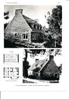 Architecture Ancien Plan D´une Villa à PORT MANEC'H ( Architecte Jacques LACHAUD à QUIMPER  ) - Architecture