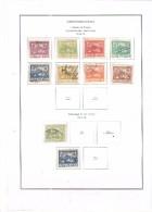 Cecoslovacchia Stamps 1918/19 Hracany Praga Scott.1/8+13+16+See Scan - Nuevos