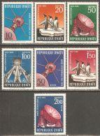 Haiti 1958 Mi# 493-499 ** MNH - International Geophysical Year / Penguins / Space - Südamerika