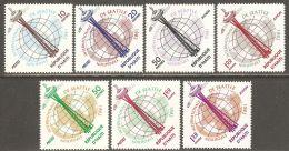 Haiti 1962 Mi# 728-734 ** MNH - Century 21 International Exposition, Seattle / Space - Haiti