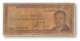 BURUNDI - 100 Francs - 01/11/1986 - Pick 29.b - Série CL - 2 Scans - Burundi