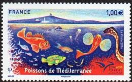 France N° 560719 ** EUROMED POSTAL - Poissons De Méditerranée - France