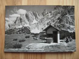 Bl1545)  Chiosco Son Forca - Gruppo Cristallo - Belluno