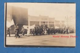 CPA Photo RPPC - DEER LODGE , Montana - Antiwar Demonstration - TOP RARE - Manifestation Grève Contre LGuerre En Russie - Etats-Unis