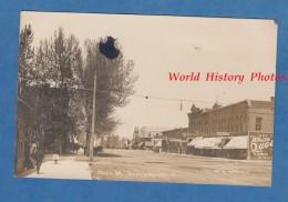 CPA Photo RPPC - DEER LODGE , Montana - Main Street - TOP RARE - Copyright 1910 - Golden Rule Shop Second Hand Store - Etats-Unis