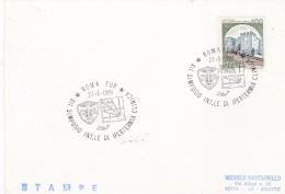 Italy Card P/m Roma Eur 1989 XII Simposio Int.le Di Ipertermia Clinica (SKO10-43) - Unclassified
