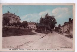 CPA.25.1937.Le Russey.Entrée Du Village.Route De Morteau Et La Promenade. - Frankreich