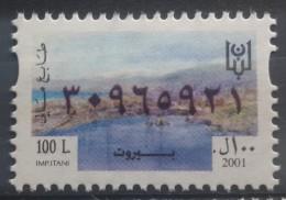 Lebanon 2001 Fiscal Revenue Stamp 100 L - MNH - Beirut - Lebanon