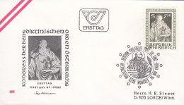 EUROPA, CEPT-Mitläufer: ÖSTERREICH 1642, FDC, 1500. Geburtstag Des Hl. Benedikt Von Nursia 1980, Patron Von Europa - Europa-CEPT