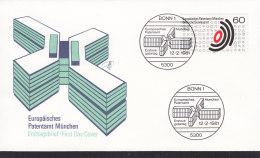 EUROPA, CEPT-Mitläufer: BRD 1088, FDC, Europäisches Patentamt, 1981 - Europa-CEPT