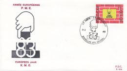 EUROPA, CEPT-Mitläufer: BELGIEN 2153, FDC, Europäisches Jahr Der Klein- Und Mittelbetriebe Und Des Handwerks, 1983 - 1983