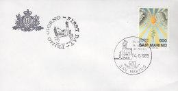 """EUROPA, CEPT-Mitläufer: SAN MARINO 1323 FDC, """"10. Jahrestag Der Unterzeichnung Der KSZE-Schlussakte"""", 1985 - Europa-CEPT"""