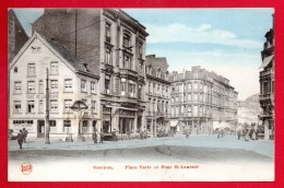 Verviers. Place Verte Et Pont Saint-Laurent. Café De La Bourse. - Verviers