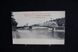 W - 399 - Liège - Exposition 1905 - Pont En Bèton Armé - Ciment Fourni Par La Maison F. Legrand-Haas - Expositions