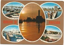 R2089 Marina Di Ravenna - Panorama Vedute Multipla / Viaggiata 1976 - Ravenna