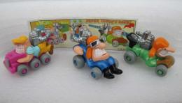Kinder 2000 : Série 3 Super Trucks Rages (moteur Métal) - K00n92-n93-n94 Avec 1 BPZ - Kinder & Diddl