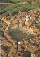 R2094 Siena - Piazza Del Campo - Veduta Aerea Aerial View Vue Aerienne Panorama Aereo / Non Viaggiata - Siena
