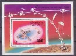 UPPER VOLTA 1976 OPERATION VIKING S/S MNH M04025 - Upper Volta (1958-1984)