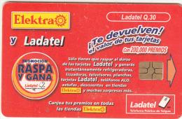 GUATEMALA - Electra & Ladatel 1(Q.30), Chip GEM3.3, Used - Guatemala