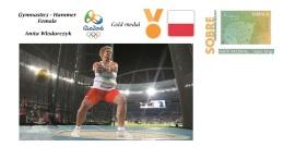 Spain 2016 - Olympic Games Rio 2016 - Gold Medal Gymnastics Female Poland Cover - Juegos Olímpicos