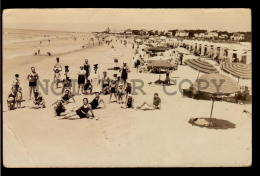 CARRASCO BEACH ANIMATED ICE CREAM SELLER LIFEWARD URUGUAY TARJETA POSTAL Original C1930 POSTCARD CPA AK (W4_3186) - Uruguay