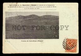 LAVALLEJA HILL URUGUAY TARJETA POSTAL Original C1900 POSTCARD CPA AK (W4_3189) - Uruguay