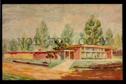 MARINDIA HOTEL INT STYLE ARCHITECTURE URUGUAY TARJETA POSTAL Original C1940 POSTCARD CPA AK (W4_3192) - Uruguay