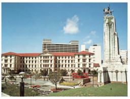 (114) New Zealand - Wellington Governments Buildings And Cenotaph - Nuova Zelanda