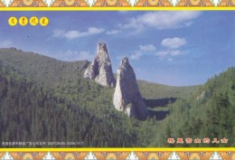 China - Son & Daughter Peaks On Meili Snow Mountain, Zogang County Of Tibet, Prepaid Card - Tibet