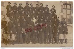 Au Plus Rapide Carte Photo Chasseur Alpin 27 ème Régiment Photographe Bouhours Vincennes - Regiments