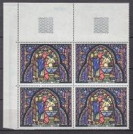 FRANCE 1966 -  Y.T. N° 1492 EN BLOC DE 4 TP NEUFS** E39 - France