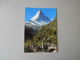 SUISSE VS VALAIS ZERMATT MATTERHORN Mt CERVIN - VS Valais