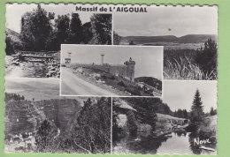 MASSIF DE L'AIGOUAL : Multivue. Passerelle Torrent Bétuzon, Camprieu, Observatoire... 2 Scans. Edition Nove Format CPM - France