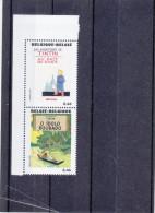 Bandes Dessinées - Tintin - Belgique - Timbres De 2007 ** - MNH - Au Pays Des Sovjets - Piroge - Bandes Dessinées