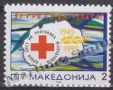 Macedonia 1995 Yvert 42, 50th Ann. Macedonia Red Cross - MNH - Macedonia