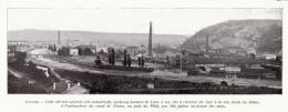 1909 - Iconographie Documentaire - Givors (Rhône) - Vue Générale - FRANCO DE PORT - Vieux Papiers
