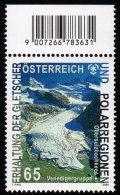 ÖSTERREICH 2009 ** Erhaltung Der Gletscher & Polarregionen / Venedigergruppe - MNH - Schützen Wir Die Polarregionen Und Gletscher