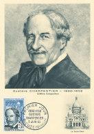 D25198 CARTE MAXIMUM CARD 1962 FRANCE - COMPOSER CHARPENTIER CP ORIGINAL - Muziek